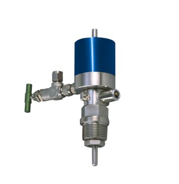 BUK magnetic stirrer coupling with thread and valve